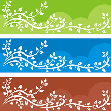 free banner backgrounds vector for free use tree banner backgrounds