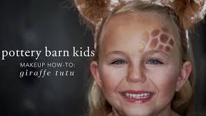 makeup how to giraffe tutu pottery barn kids