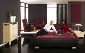 Wow Red And Black Color Scheme For Bedroom 94 For Your Home ...