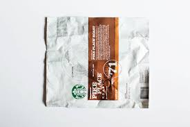 starbucks coffee bag back. Interesting Starbucks Origami Wallet From A Coffee Bag  Giving Back With  With Starbucks