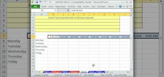 how to make a time schedule in excel microsoft excel schedules expin franklinfire co