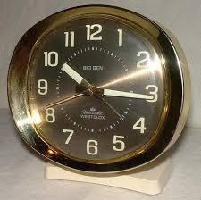 amazing home gorgeous big ben alarm clocks of com 1949 quartz battery powered clock