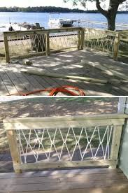 20 DIY Deck Railing Ideas Hative