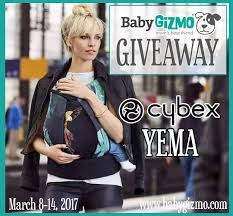 Cybex Yema Baby Carrier Giveaway | Baby Gizmo