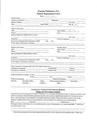 Sample Bsa Medical Form Bsa Medical Forms Resume Template Sample 6