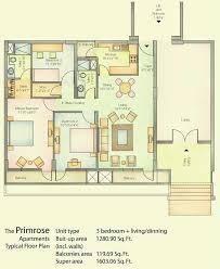 vatika city primrose floor plans
