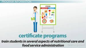 dietary manager job description online certified dietary manager training programs and courses