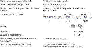 7 5 Sales Tax Chart Solve Sales Tax Commission And Discount Applications