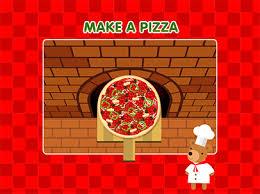 makea make a pizza game for kids