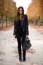 you cannot go wrong with an all black outfit as demonstrated by ine blomst in