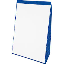 White Chart Paper Tops Evidence Recycled Table Top Flip Chart