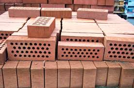 bricks with holes. Simple Holes Stack Of Red Clay Bricks With Holes In Market Stock Photo  48701612 And Bricks With Holes H