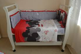 back to mickey mouse baby bedding suitable for modern rooms baby mickey crib set design