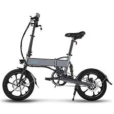 <b>FIIDO D2</b> Folding EBike, 250W Aluminum <b>Electric Bicycle</b> with Pedal ...