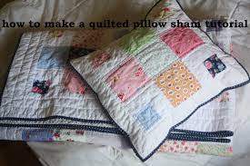 A Quilted Sham Tutorial - Avery Lane Sewing & A Quilted Sham Tutorial Adamdwight.com