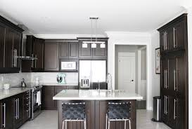 Dark Brown Kitchen Cabinets Inspiring Home Ideas