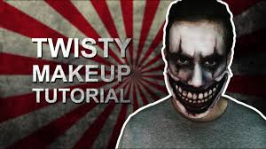 twisty makeup tutorial american horror story you