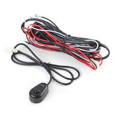 amp off road atv jeep led light bar wiring harness kit relay on relay wiring harness note light shooting and different displays cause the color of the item in the picture a little different from the real thing
