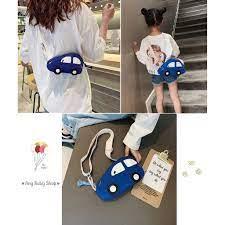 Túi đeo chéo hình xe hơi, ô tô cho cả mẹ và bé siêu xinh ❣❣ - Balo In Hình  Thương hiệu No Brand