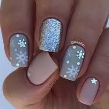 newest 40 snowflake nail designs ideas