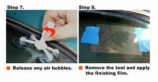 newest diy car automobile windshield repair kit tools auto glass windscreen repair set give door handle