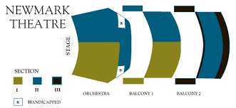 Newmark Theater Seating Chart Portland Piano International