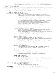 Artist Manager Resume Job Description Resume Template For Manager Position
