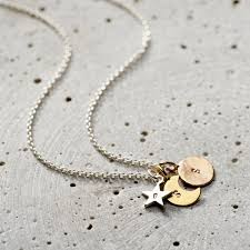 personalised mixed gold sun moon star