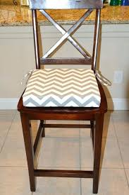 dining chair seat cushions gray and white chevron print fabric seat cushion cover kitchen chair pad cover dining chair gray and white chevron print fabric