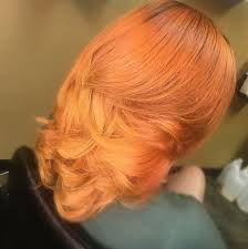 Bold Color Via Black Hair Information