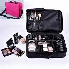 pro makeup bag partment travel bag portable makeup organizer
