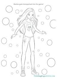 Fairytale Coloring Pages Colouring Pages Barbie Fashion Coloring