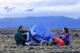 Image result for pictures of people in tents