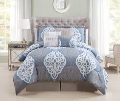 image of queen bedding sets blue