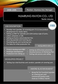 Digital Marketing Job Description Simple Varainvis Manoonkulchai Professional Digital Marketing CV