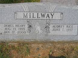 James Henry Millway and Audrey Rice Millway, Antioch Baptist Church Cemetery