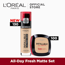 all day fresh matte set infallible 24hr fresh wear foundation infallible pro