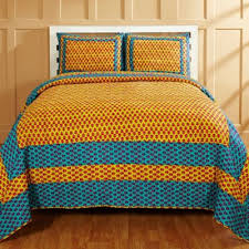 Buy Blue and Yellow Quilts from Bed Bath & Beyond & Amity Home Sonal Twin Quilt Set in Yellow/Blue Adamdwight.com