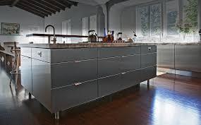 indoor stainess steel kitchens