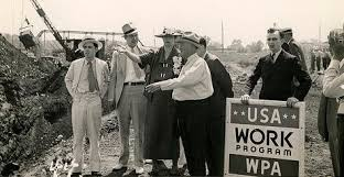 works progress administration facts list of new deal projects