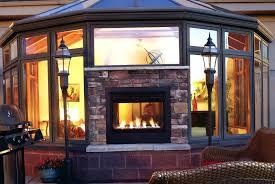 indoor outdoor see thru fireplace indoor outdoor see thru gas fireplace