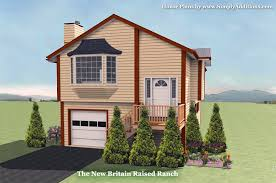 raised house plans. The New Britain Raised Ranch House Plan Plans L
