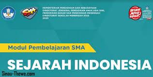 Artikel ini berisi kunci jawaban uas sejarah kelas 11 sma/smk semester 2. E Modul Sejarah Indonesia Kelas Xi Sma Tahun 2020 2021 Sinau Thewe Com