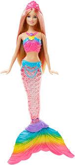 Barbie Doll Light Barbie Rainbow Lights Mermaid Doll Buy Online In Uae