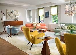 Mid Century Modern Living Room Colors