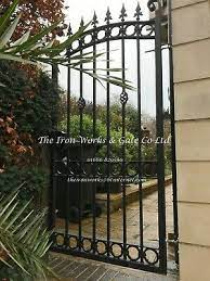 royal gate any size heavy metal wrought