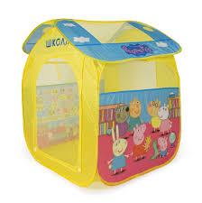 <b>Peppa Pig Палатка</b> для игр Учим азбуку с Пеппой