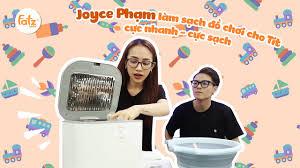 Cách Joyce Phạm làm sạch đồ chơi cho Tít cực nhanh I Máy tiệt trùng Thunder  3 I FATZBABY - YouTube