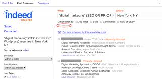 How To Use Indeed Resume Search To Find The Best Candidates Fast Custom How To Find Resumes On Google