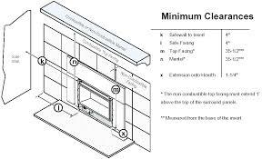 gas fireplace insert installation gas fireplace insert installation instructions gas fireplace insert installation